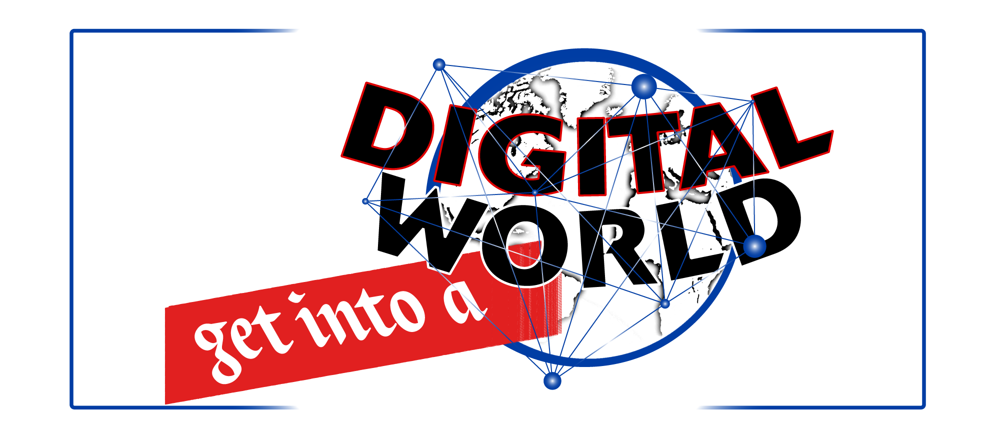 Get into a digital world logo