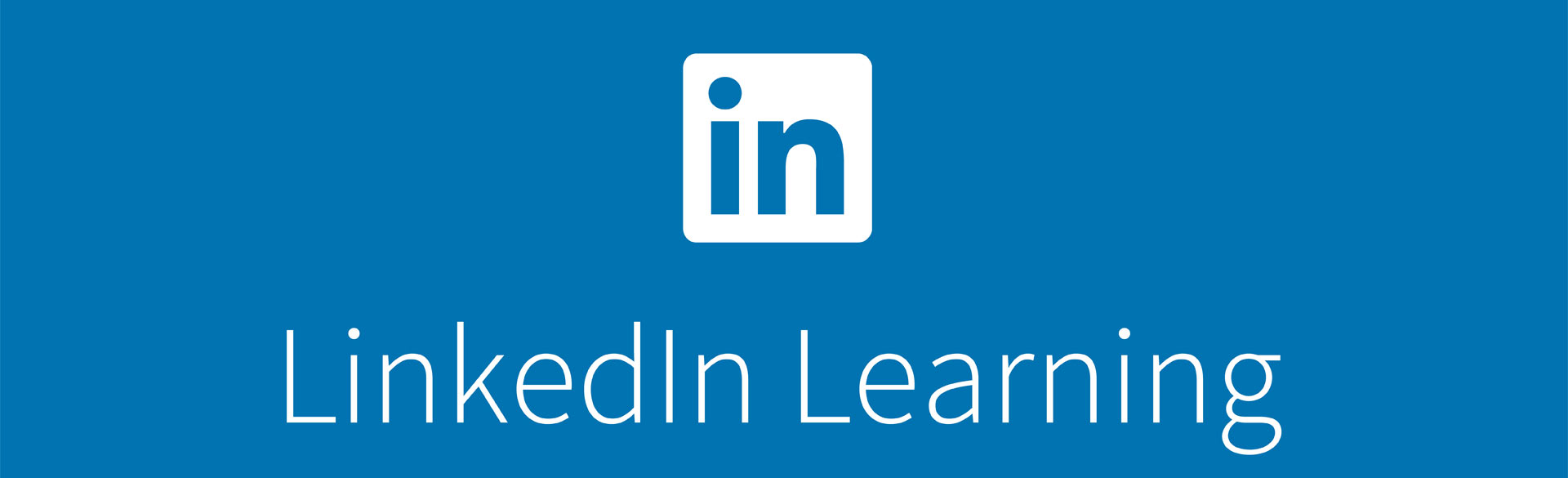 LinkedIn Learning included in the SFM Program